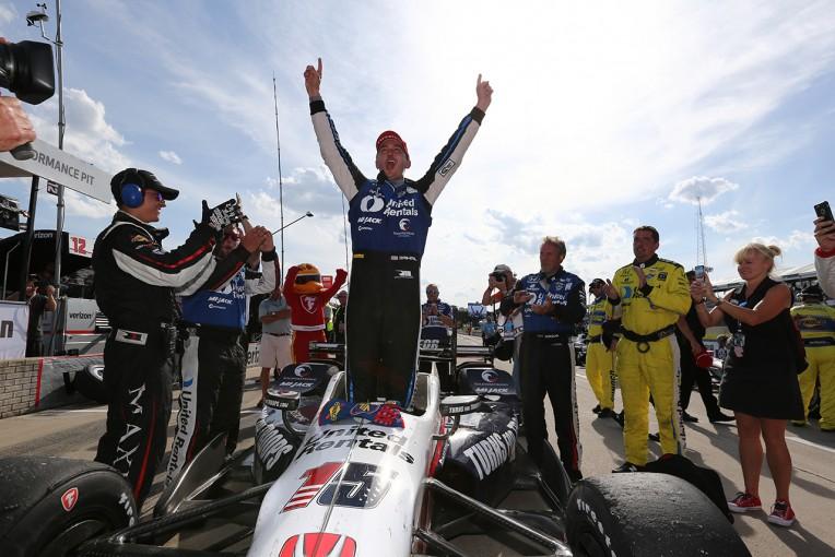 海外レース他   インディ・デトロイト戦:レイホールがライバルを寄せ付けず2連勝。琢磨は悔しい4位