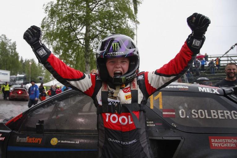 ラリー/WRC   15歳の天才少年が快挙。ペター・ソルベルグの長男オリバーがラリークロス初優勝