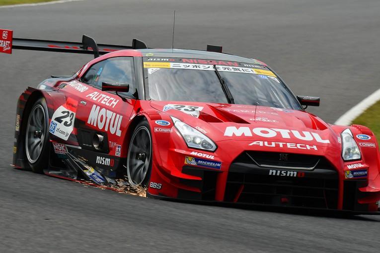 スーパーGT | スーパーGT鈴鹿メーカーテスト:初日午前はMOTUL GT-Rが首位。バトンも初走行