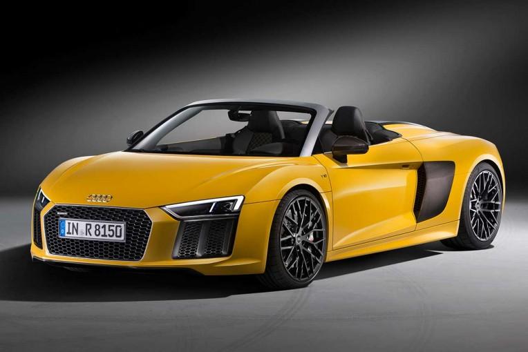 クルマ | 7年ぶりのモデルチェンジ。アウディ、新型R8スパイダーの販売を開始