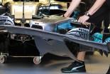F1   【津川哲夫の私的F1メカ】ノーズ下面のエアロに見える、メルセデスの苦悩