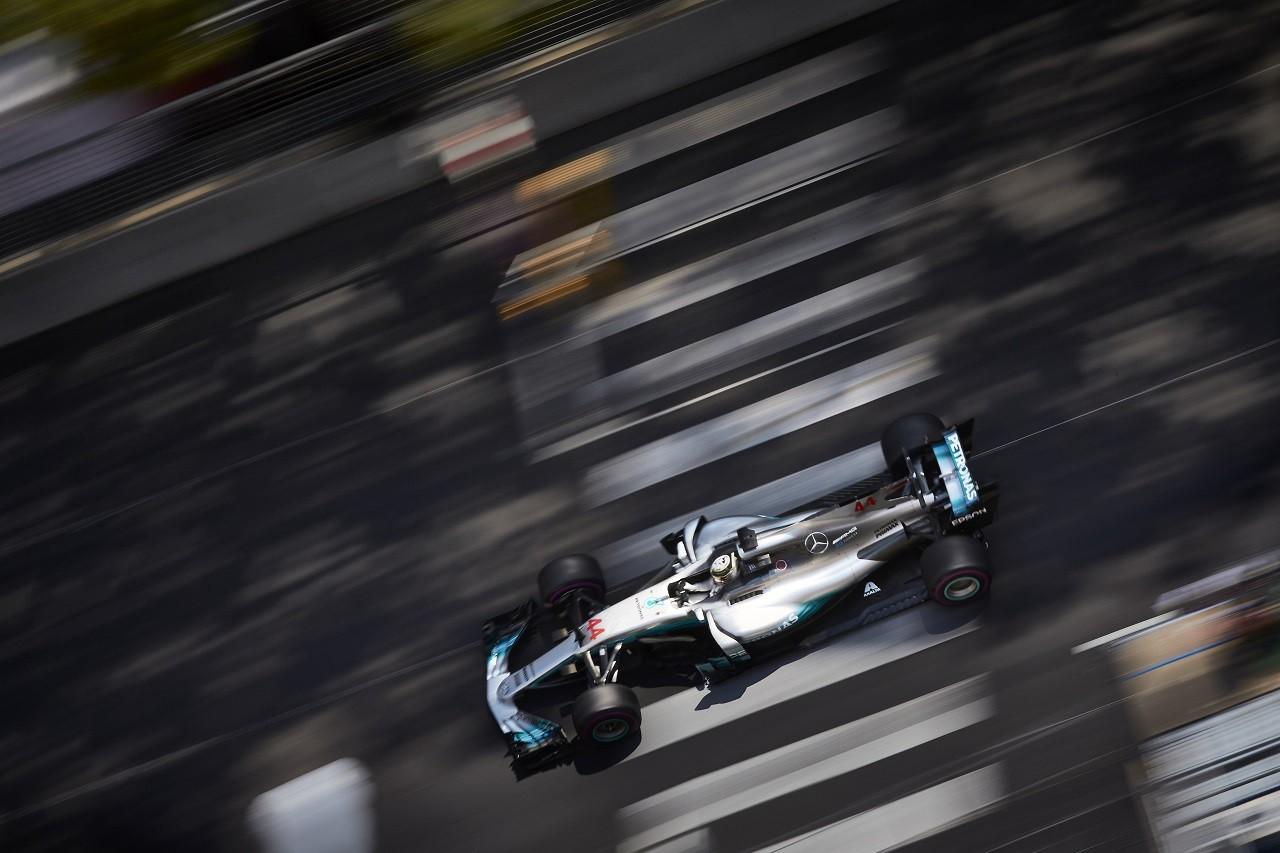 2017年F1モナコGP ルイス・ハミルトン(メルセデス)
