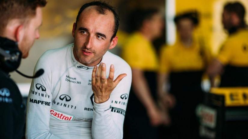 F1   ロバート・クビカ、6年ぶりのF1走行に「複雑な思い」。ルノーはテスト続行を否定