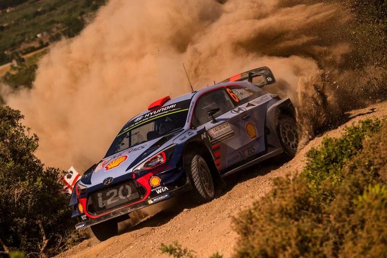 ラリー/WRC | WRCイタリア:シェイクダウンはヒュンダイがワン・ツー。トヨタは3~4番手に続く