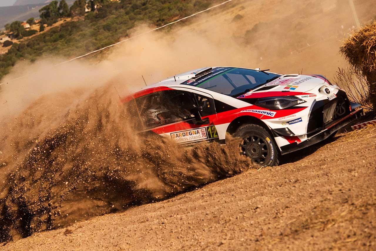 WRCイタリア:シェイクダウンはヒュンダイがワン・ツー。トヨタは3~4番手に続く