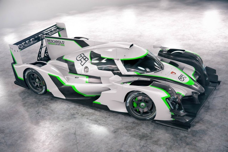 ル・マン/WEC   ペスカローロ・スポーツが新型プロトタイプカーを発表。新シリーズの開催も