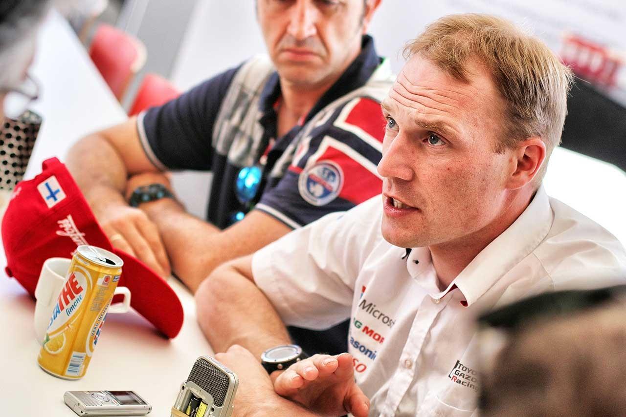 WRC:トヨタ、SS1は着実な滑り出しも「表彰台に立てれば上出来」とラトバラ
