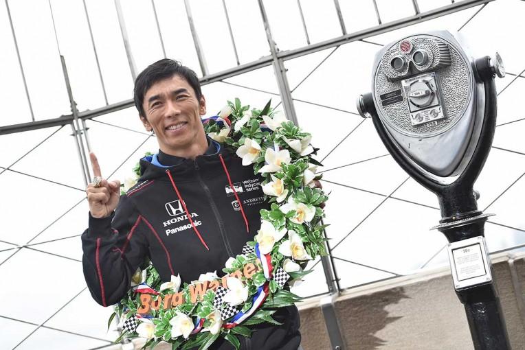 海外レース他   ファンに自ら勝利を報告。佐藤琢磨の凱旋イベント、6月14日に東京・青山で開催。入場無料