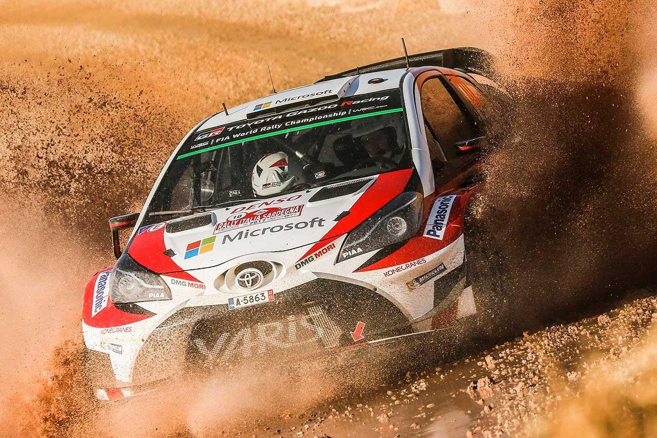 WRCイタリア:デイ2は早くもサバイバルの様相。ヒュンダイが首位、トヨタは僅差の4番手