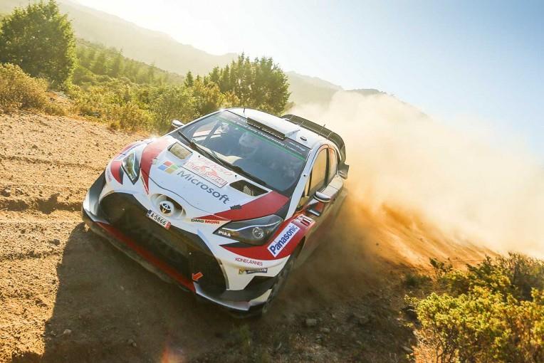 ラリー/WRC | WRC:トヨタ、3台揃って入賞圏内も「予想通り大変な1日」とマキネン