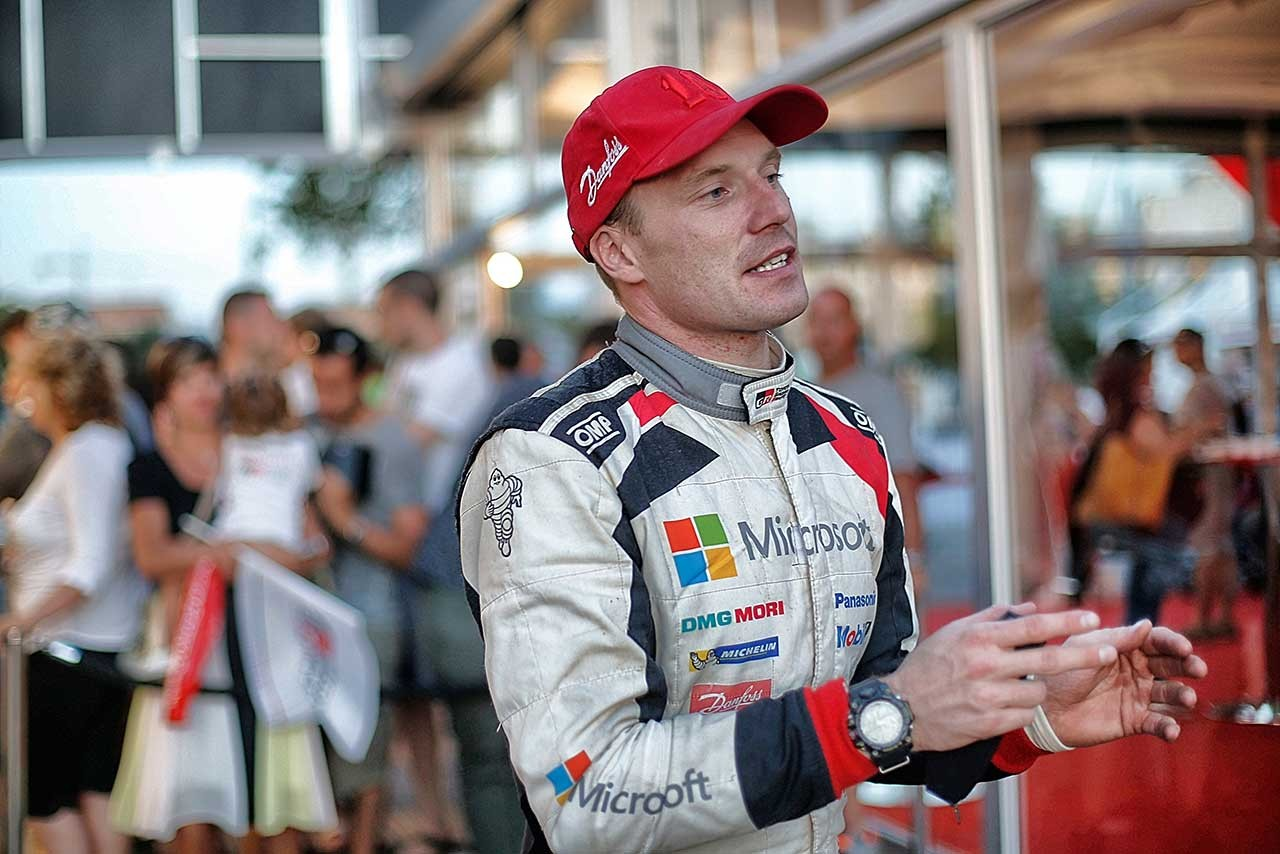 WRC:トヨタ、3台揃って入賞圏内も「予想通り大変な1日」とマキネン