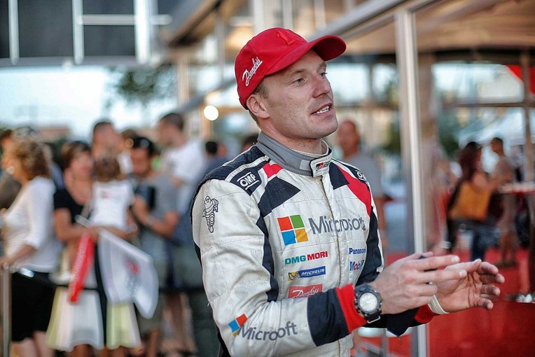 ラリー/WRC   ラトバラ「スターターを破損し、エンジンを止めないよう注意して走った」/WRC第7戦イタリア デイ2コメント
