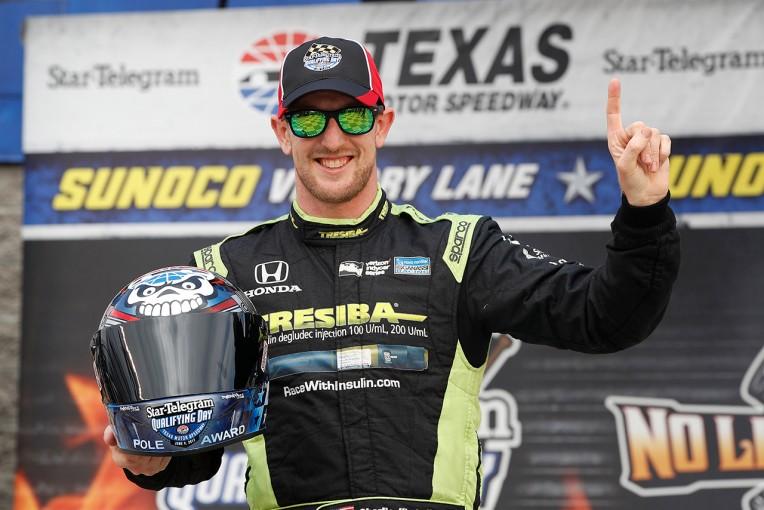 海外レース他 | 【順位結果】インディカー第9戦テキサス予選/キンボールが初ポール
