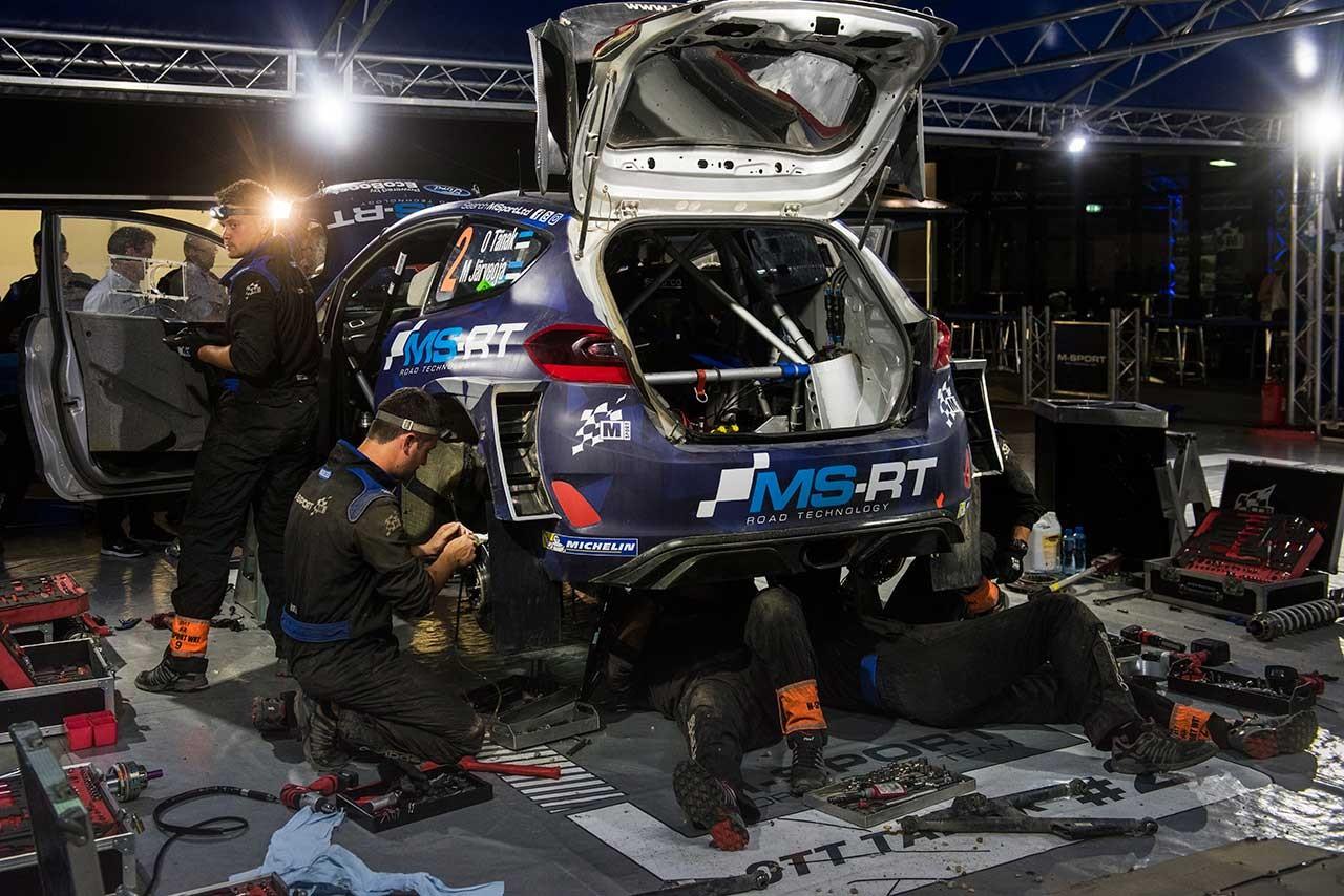 ラトバラ「スターターを破損し、エンジンを止めないよう注意して走った」/WRC第7戦イタリア デイ2コメント