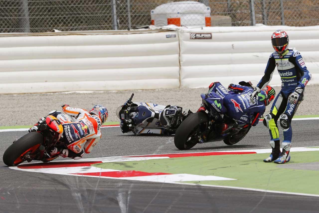 MotoGP:カタルーニャのレイアウトを変更