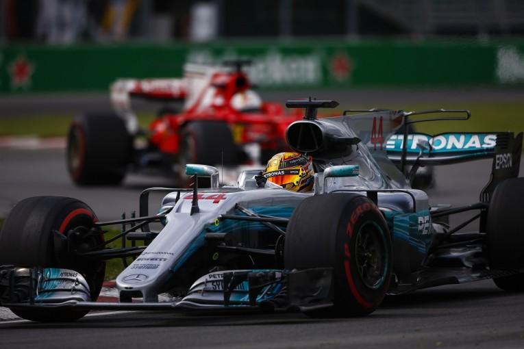 F1 | ハミルトン「モナコの時よりマシンの感触がずっといい」:メルセデス F1カナダ金曜