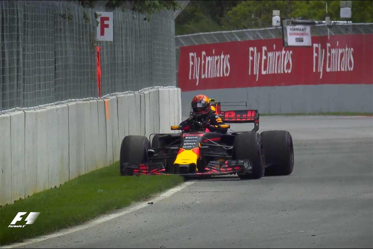 F1カナダGPフリー走行2回目ハイライト