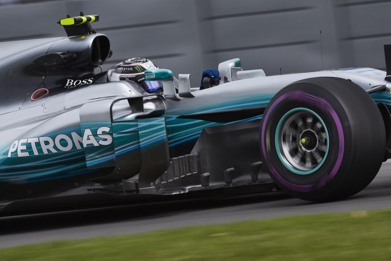 F1 | ボッタス「ウルトラソフトに課題が残っているが、ポジティブな初日」:メルセデス F1カナダ金曜
