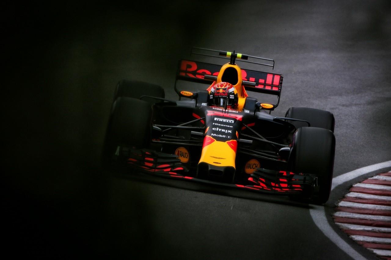 2017年F1第7戦カナダGP マックス・フェルスタッペン(レッドブル)