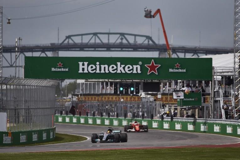 F1   ベッテル「ロングランが妨げられて、ちょっといらいらした」:フェラーリ F1カナダ金曜
