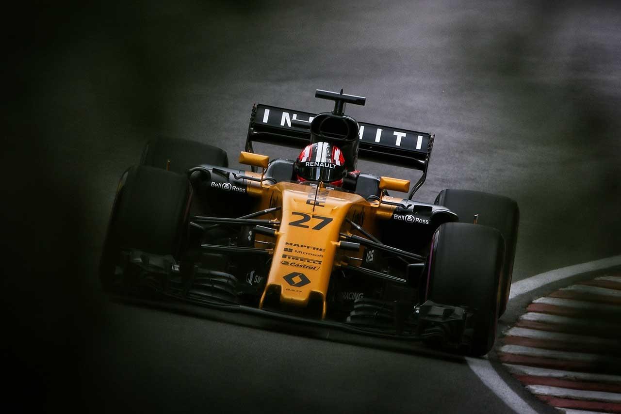 ニコ・ヒュルケンベルグ(カナダGP フリー走行)