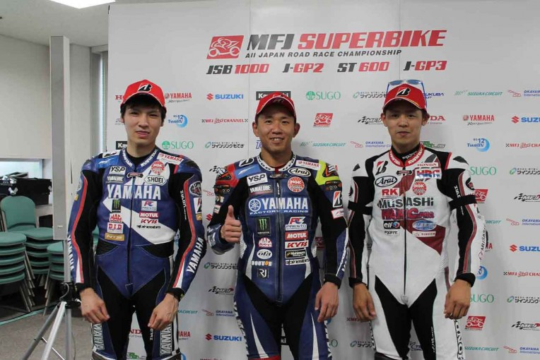 MotoGP   中須賀「リズムを取り戻そうと必死だった」/全日本ロード第4戦予選会見