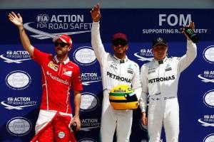 F1カナダGP予選 セナの記録に並んだハミルトン