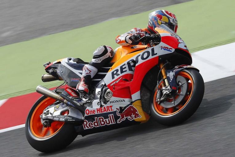 MotoGP   MotoGPカタルーニャGP:ペドロサが今季2度目のポール獲得。ロッシがQ1敗退で下位に沈む