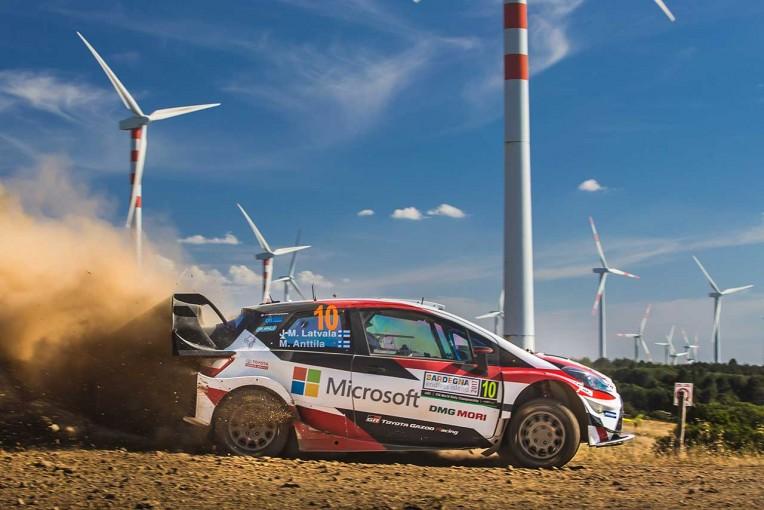 ラリー/WRC | トヨタ、首位と24.3秒差の総合2番手浮上/【順位結果】世界ラリー選手権第7戦イタリア SS15後