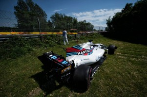 2017年F1第7戦カナダGP フェリペ・マッサはスタートの接触に巻き込まれリタイア