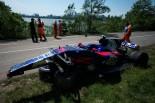 2017年F1第7戦カナダGP クラッシュしたカルロス・サインツJr.のマシン