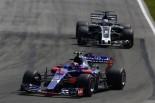 2017年F1第7戦カナダGP カルロス・サインツ(トロロッソ)とロマン・グロージャン(ハース)