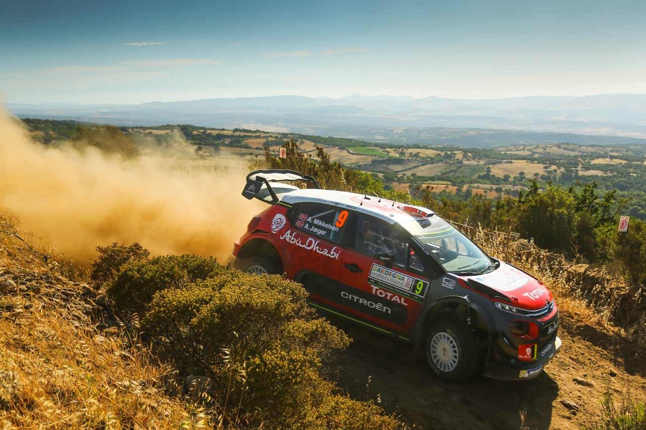 シトロエン 2017年WRC第7戦イタリア ラリーレポート