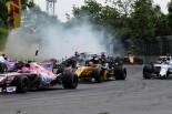 F1 | サインツ「正直に言うと、そこにクルマがいるのが見えていなかった」:トロロッソ F1カナダ日曜