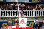 カップシリーズ初優勝を飾ったライアン・ブラニー(フォード・フュージョン)
