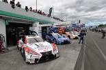 初日午後のセッションではレクサス陣営の5台が100周を越えるロングラン