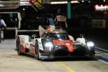1号車ポルシェを追っていた9号車トヨタもストップ。トヨタのル・マン勝利は厳しい状況に追い込まれた。