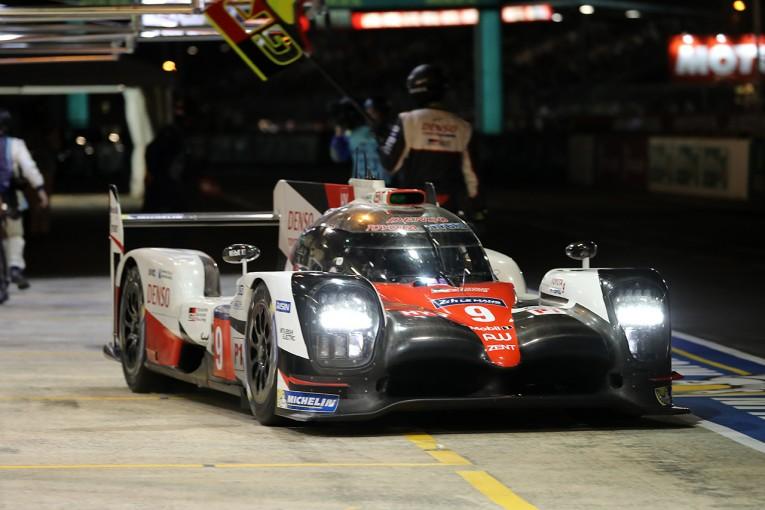 ル・マン/WEC | ル・マン24時間:魔の午前1時。9号車もストップ! トヨタの勝利は厳しい状況に