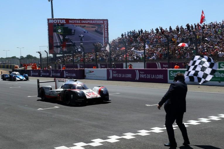 ル・マン/WEC | ル・マン24時間はポルシェ2号車が逆転優勝! 3連覇で19回目の勝利を飾る。トヨタは9位フィニッシュ