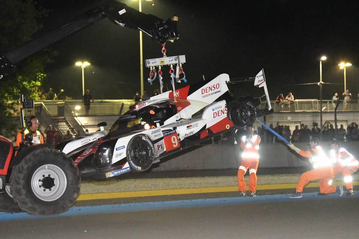 可夢偉「僕たちのレースになると思っていた」。トヨタ、大波乱のル・マンで8号車が9位完走