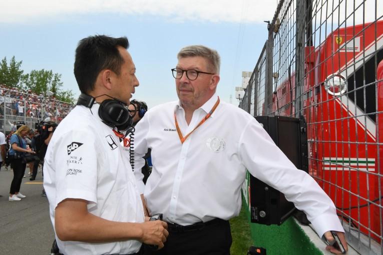 F1 | ロス・ブラウン、ホンダF1の苦戦を問題視。「新規参入者が3年以内に戦えるようになる」規則導入を望む