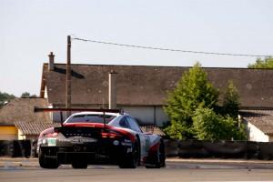 ル・マンデビューを飾った新型ポルシェ911 RSR