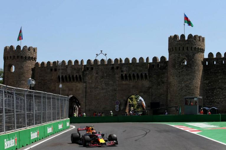 F1 | F1アゼルバイジャンGP FP1:フェルスタッペンがトップタイム、アロンソは17番手と苦戦