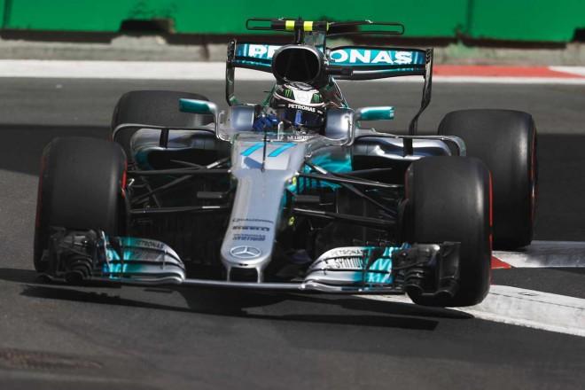 F1アゼルバイジャンGPフリー走行3回目でトップタイムのボッタス