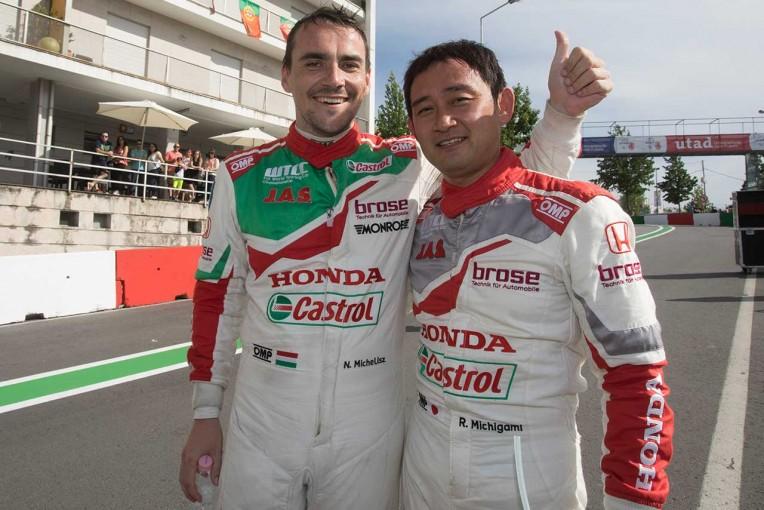 海外レース他 | WTCCポルトガル:道上龍、自身初のオープニングレースPP。メインレースもホンダがポール