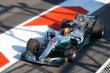 F1第8戦アゼルバイジャンGP予選PPのハミルトン