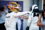 F1アゼルバイジャン予選PPのハミルトン