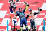 MotoGP | MotoGP:ロッシ「雨でゼロからやり直しだと思った」/オランダGP決勝トップ3コメント