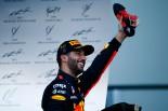 2017年F1第8戦アゼルバイジャンGP 今季初優勝を果たしたダニエル・リカルド