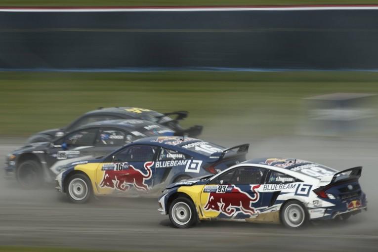 """ラリー/WRC   世界ラリークロス:北米でホンダ・シビック操る""""エリクソンズ""""が世界戦登場へ"""